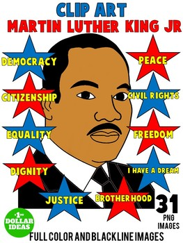 MARTIN LUTHER KING ACTIVITIES| BLACK HISTORY MONTH ACTIVITIES | CLIPART