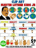 MARTIN LUTHER KING JR CLIPART | MARTIN LUTHER KING ACTIVIT