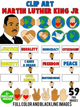 MARTIN LUTHER KING ACTIVITIES  BLACK HISTORY MONTH ACTIVITIES   CLIPART