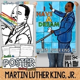 MARTIN LUTHER KING JR, COLLABORATIVE POSTER, WRITING ACTIVITY