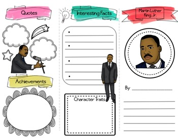 MARTIN LUTHER KING, JR. - DIGITAL Biography Brochure (Martin Luther King Day)