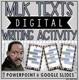 MARTIN LUTHER KING JR DIGITAL WRITING ACTIVITY: MLK TEXTS