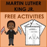 MARTIN LUTHER KING JR. DAY/ BLACK HISTORY MONTH: FREE ACTIVITIES
