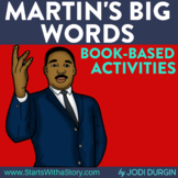 Martin's Big Words and Martin Luther King Jr Activities