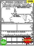 MARTIN LUTHER KING JR POSTER | ESPAÑOL | TODO ACERCA DE MA