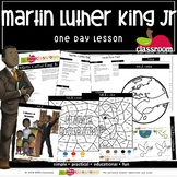 MARTIN LUTHER KING JR. Preschool PreK Kindergarten 1-Day Lesson Plan