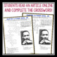 MARTIN LUTHER KING JR DAY: Crossword Puzzle