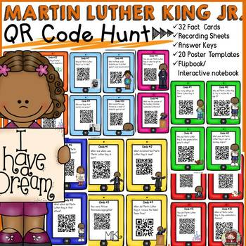 MARTIN LUTHER KING JR.{QR CODE HUNT}