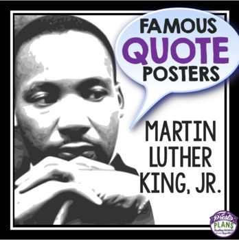 MARTIN LUTHER KING JR DAY: POSTERS