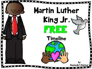 TIMELINE AND ACTIVITIES MARTIN LUTHER KING JR