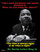 MARTIN LUTHER KING JR. WRITING ACTIVITY WORKSHEET WITH POSTER, grades 5-8