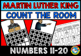 MARTIN LUTHER KING JR ACTIVITY KINDERGARTEN (COUNT THE ROOM) NUMBERS 11-20