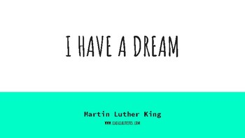 MARTIN LUTHER KING POWER POINT