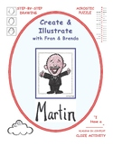 MARTIN Luther King, Jr.: Create & Illustrate with Fran & Brenda
