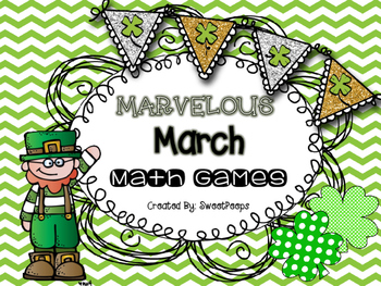 MARVELOUS MARCH Math Games