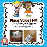 Place Value Lesson for Kindergarten