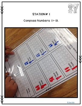 Place Value Lesson for Kindergarten