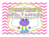 'MASH'tering Addition & Subtraction {activities, centers, and craftivities}