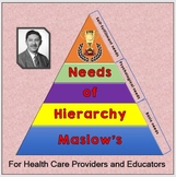 MASLOW'S HIERARCHY OF NEEDS: For Health Care Providers and