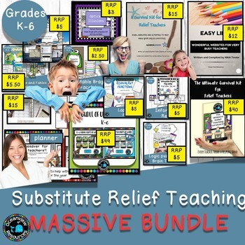 MASSIVE BUNDLE Bonanza Bundle,Ultimate Relief Teaching Kit