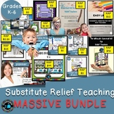 Massive Substitute and  Relief Teaching Resource Bundle -S