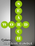 MASSIVE Word Search Puzzle Bundle - Volume 1