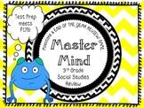MASTER MIND: A MUST USE GA MILESTONE TEST PREP GAME FOR 3RD GR. SOCIAL STUDIES