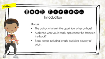 MASTERCLASS - Creating a Book Review - Explicit Teaching - Daily 5