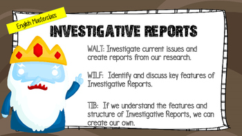 MASTERCLASS - Investgative Reports - Introduction - 7 Steps Link