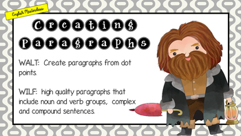 MASTERCLASS - Turning Dot Points to Paragraphs - EXPLICIT TEACHING