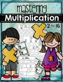 MASTERING MULTIPLICATION {Skip Counting, Task Cards, Asses