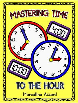 TELLING TIME WORKSHEETS KINDERGARTEN (O'CLOCK ACTIVITY)