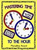 TELLING TIME WORKSHEETS KINDERGARTEN (O'CLOCK ACTIVITY)
