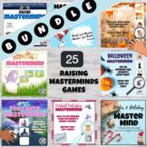 MASTERMIND Logic Reasoning Game! Summer Fun! Back to Schoo