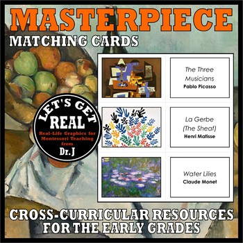 MASTERPIECE MATCHING CARDS