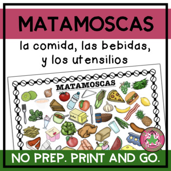 MATAMOSCAS - La comida, las bebidas, y los utensilios