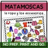 MATAMOSCAS - La ropa y los accesorios con imágenes (Clothes and supplies)