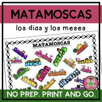 MATAMOSCAS - Spanish Days and Months