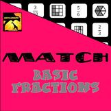 MATCH - Basic Fractions Puzzle