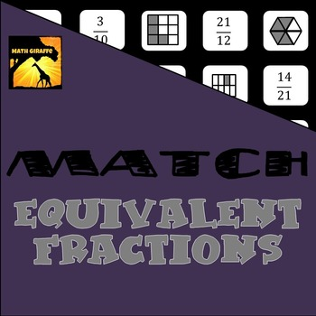 MATCH - Equivalent Fractions Puzzle
