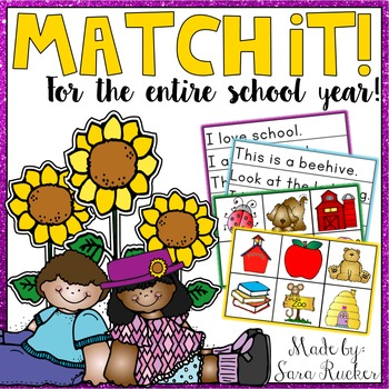 MATCH IT! for the entire school year