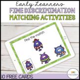 MATCHING BOOM CARDS: DISCRIMINATION DIGITAL TASK CARDS FOR