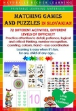 MATCHING GAMES AND PUZZLES IN SLOVAKIAN