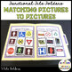 AUTISM MATCHING REAL LIFE VOCABULARY FILE FOLDERS (early childhood; autism)