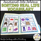 AUTISM MATCHING REAL LIFE VOCABULARY FILE FOLDERS (early c