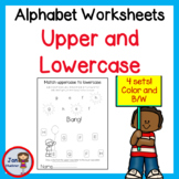 Matching Lowercase to Uppercase Alphabet Letters Game