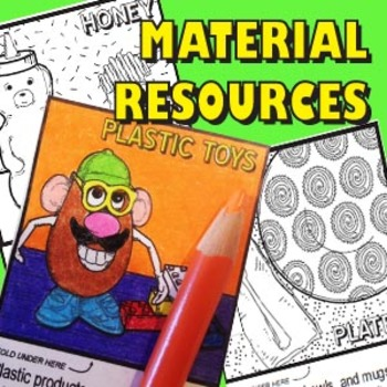 MATERIAL RESOURCES / Natural Resources: Origins of Everyday Objects