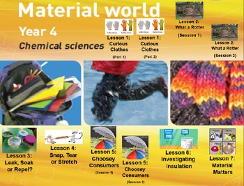 MATERIAL WORLD: YEAR 4 Primary Connections Chemical Sciences