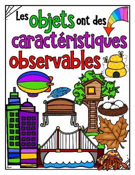 MATÉRIAUX, OBJETS et STRUCTURES • Science Big Ideas Grade 1