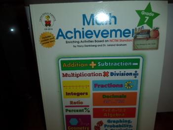 MATH ACHIEVEMENT  ISBN 0-88724-643-5